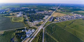 Aerial View of Bondurant