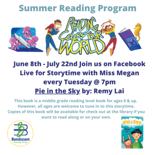 Virtual Story time with Miss Megan