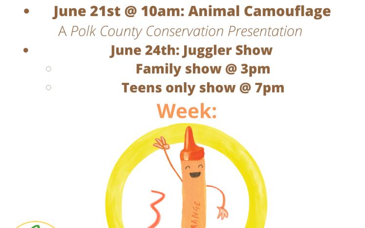 Week 3 - Teens only juggling show