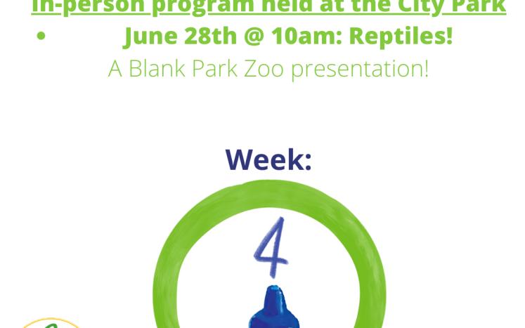 Week 4 - zoo @ the park