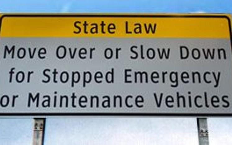 Move Over Sign