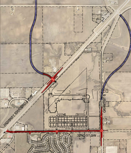 Road Construction Map
